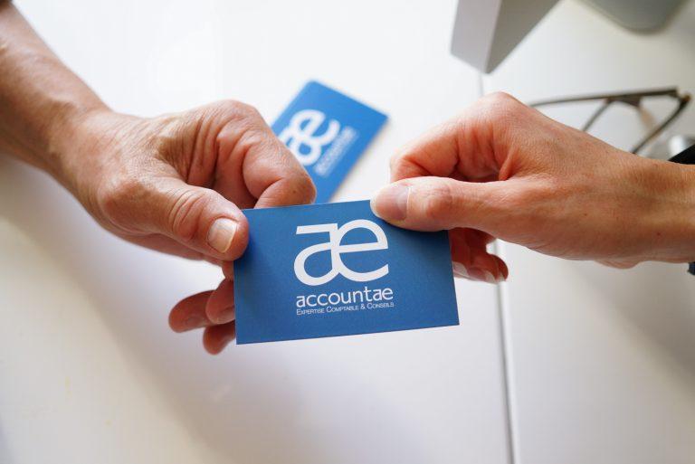 Accountae expertise comptable Vernouillet Yvelines - carte de visite